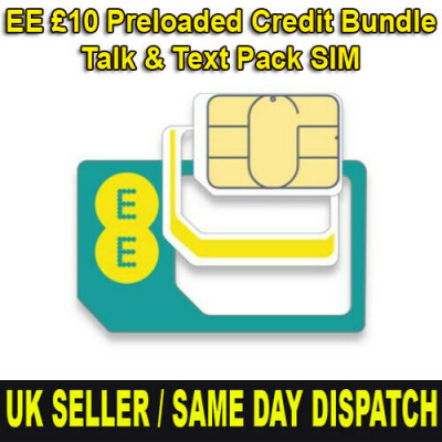 £10 EE Preloaded Bundle SIM Card