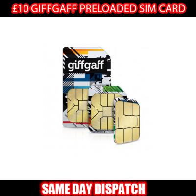 £10 Giffgaff Preloaded SIM
