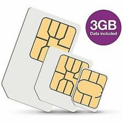 Three 3GB Data Sim